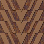 79/15056.CS Chevron Bronze by Cole & Son