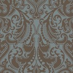 LWP65713W Gwynne Damask Peacock by Ralph Lauren